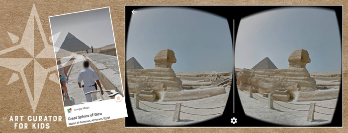 Google Cardboard Art - Egypt-Great Sphinx of Giza