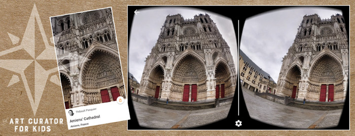 Google Cardboard Art - Amiens Cathedral