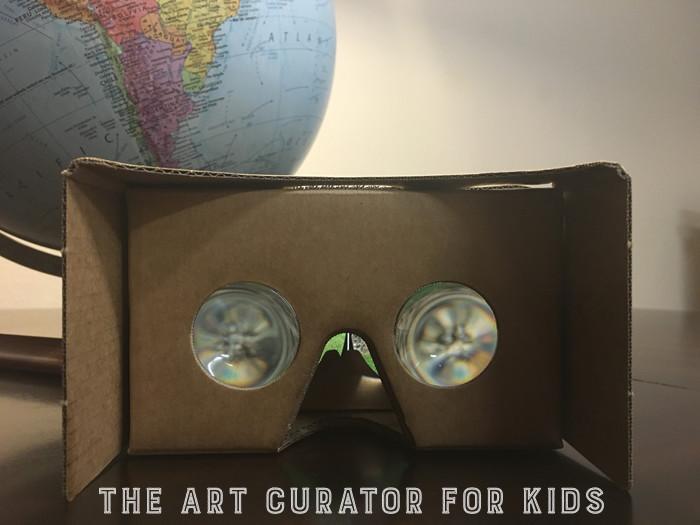 Google Cardboard Art Globe