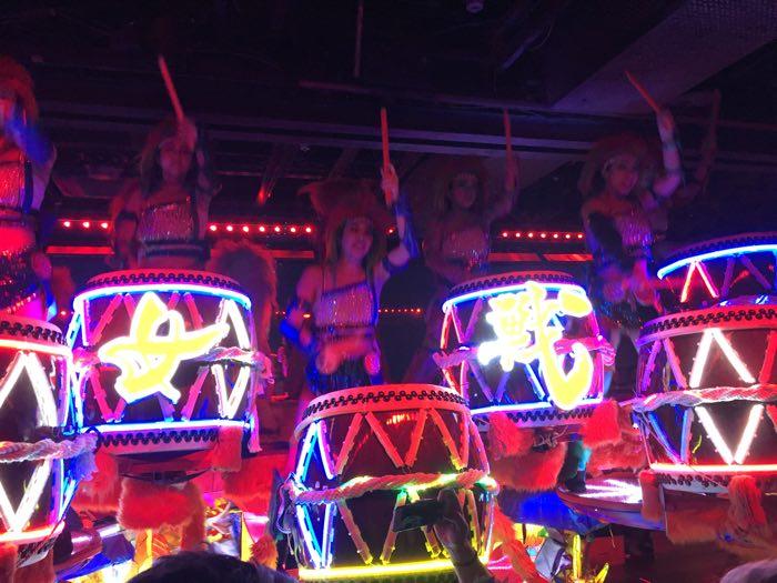 Japan Tokyo Robot Show Rainbow Drummers
