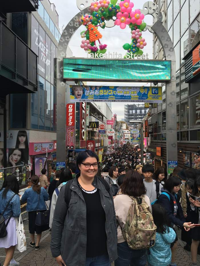 Japan Tokyo Takeshita Street Harajuku