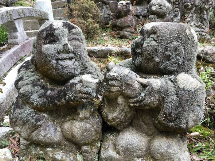 Rakkan Sculptures from Otagi Nenbutsu-ji Temple