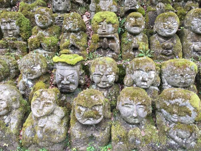 Rakkan Sculptures from Otagi Nenbutsu-ji Temple4