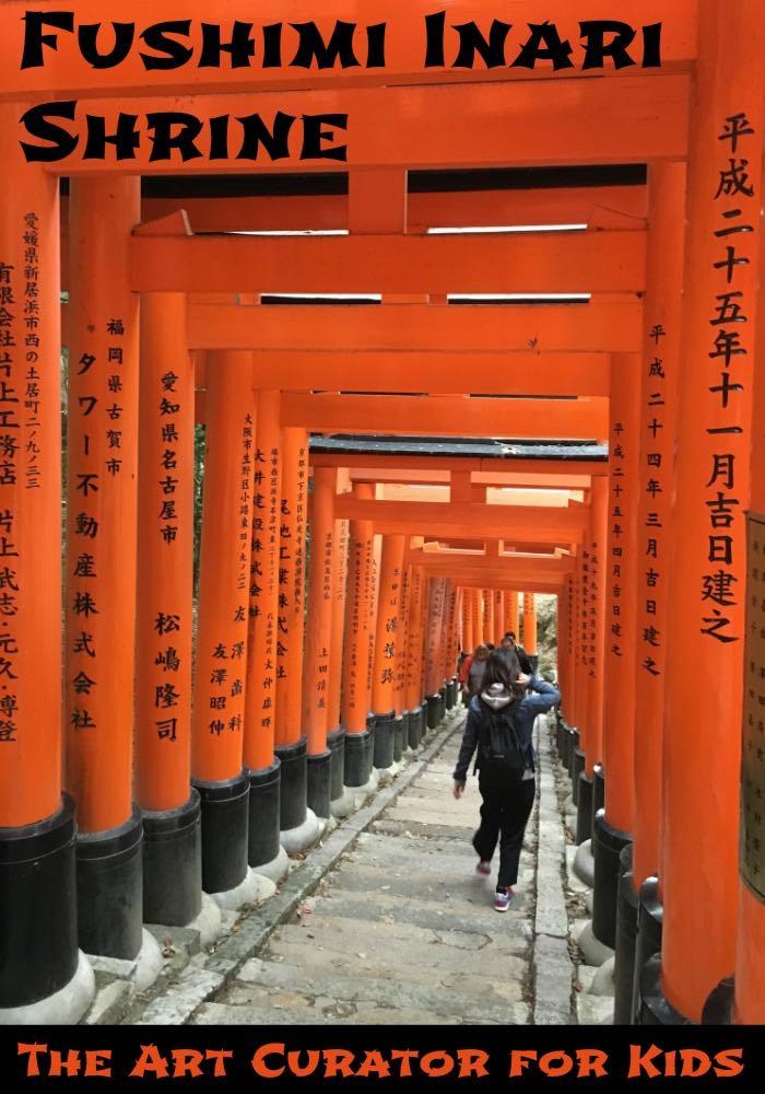 Fushimi Inari Shinto Shrine Art Lesson