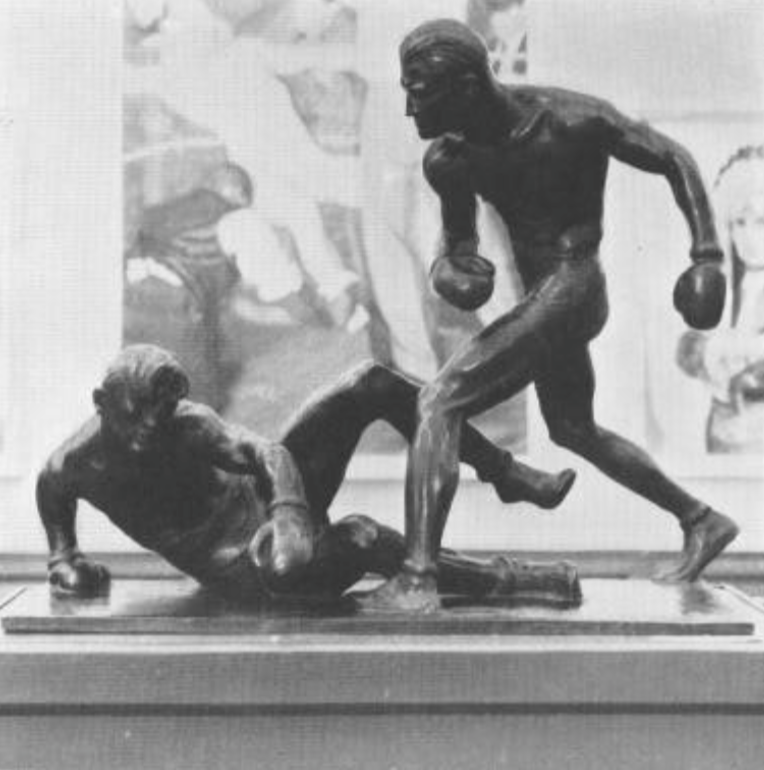 Mahonri Young, The Knockdown, 1932, Gold Medalist for United States