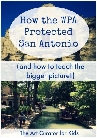 The Art Curator for Kids - San Antonio River Walk WPA