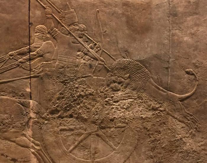 Ashurbanipal Hunting Lions3