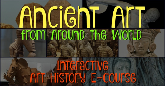 Ancient Art Course FB with Text
