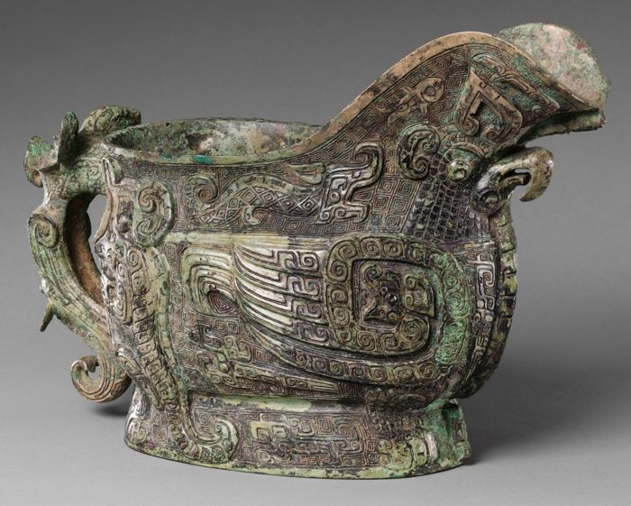 spouted-wine-vessel-gong-met-museum
