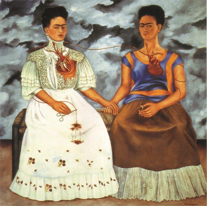 The Two Fridas, Frida Kahlo, 1939
