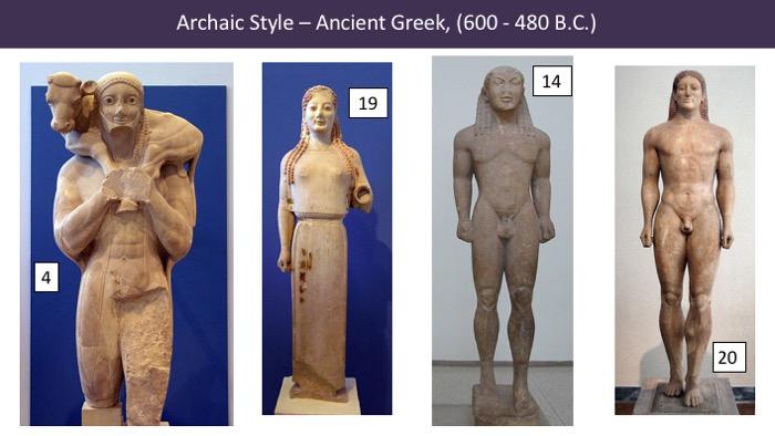 ancient greek kouros