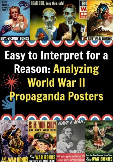 Easy to Interpret for a Reason: Analyzing World War II Propaganda Posters
