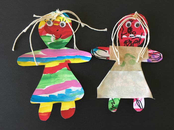 The Art Curator for Kids-Guatemalan Worry Dolls-finished dolls