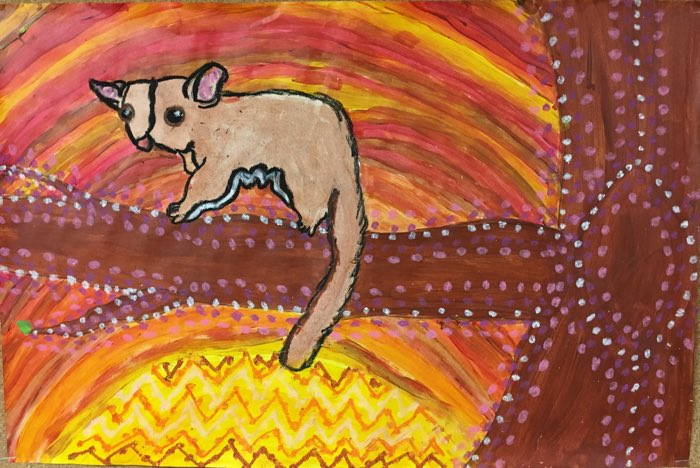 Australia Aboriginal Art Lesson and Aboriginal Art Project