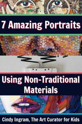 7 Amazing Portraits Using Non-Traditional Materials