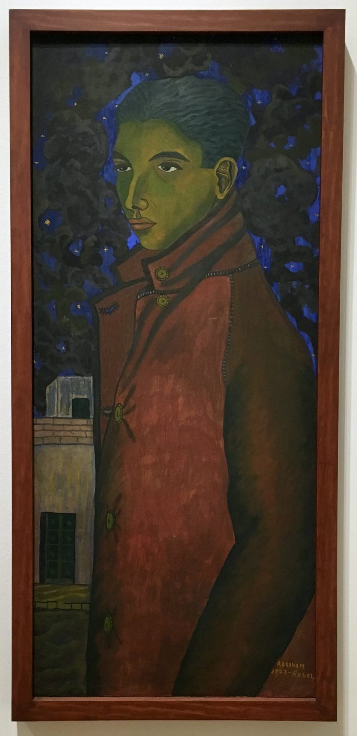 contemporary mexican artists Abraham Angel, Cadet, 1923