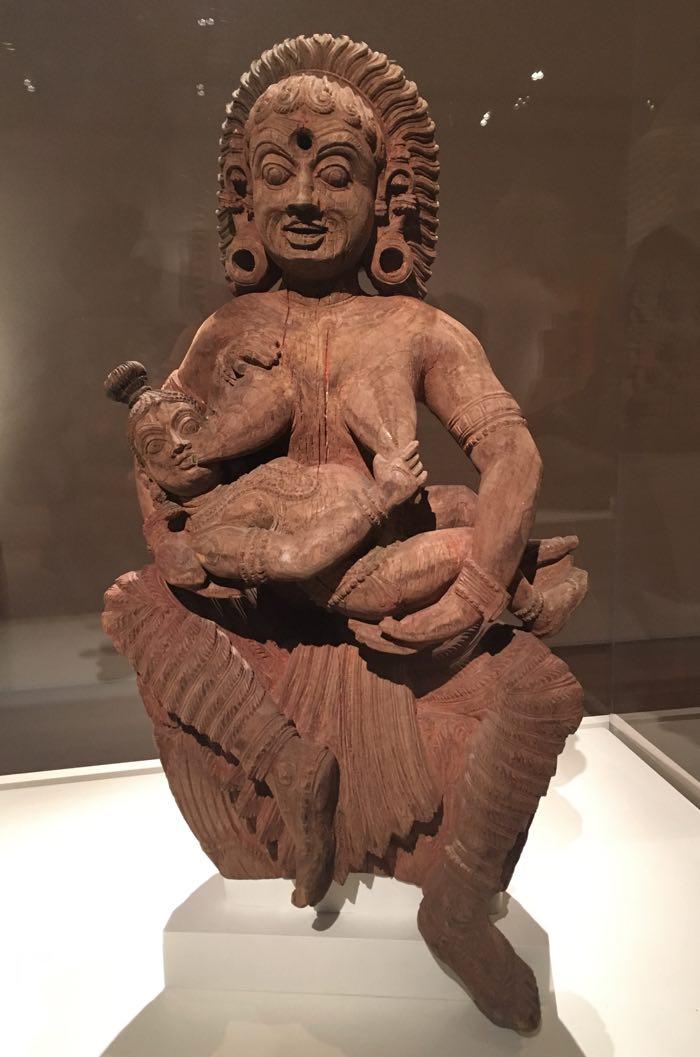The Infant Krishna Killing the Ogress Putana, India, 17th century