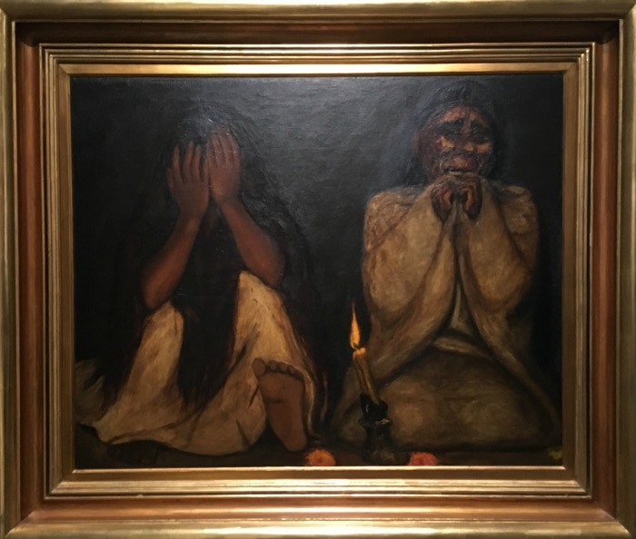 mexican art paintings Francisco Goitia, Tata Jesucristo, c. 1925-27