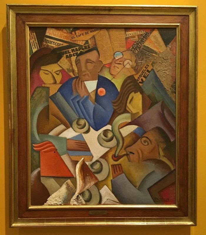 Ramon Alva de la Canal, Nobody's Cafe, 1930
