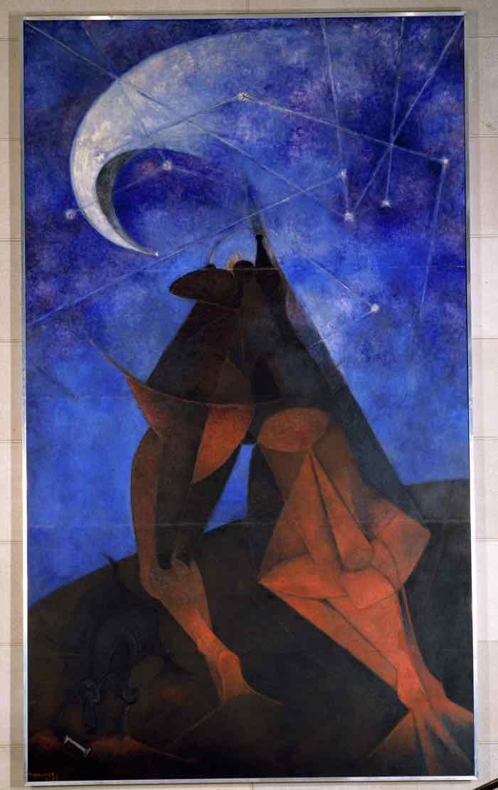 Rufino Tamayo, El Hombre, 1953 mexican art american dream