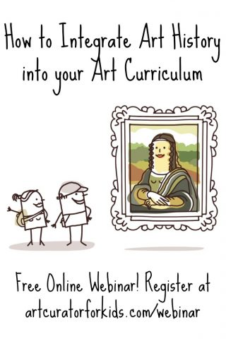 How to Integrate Art History into your Art Curriculum