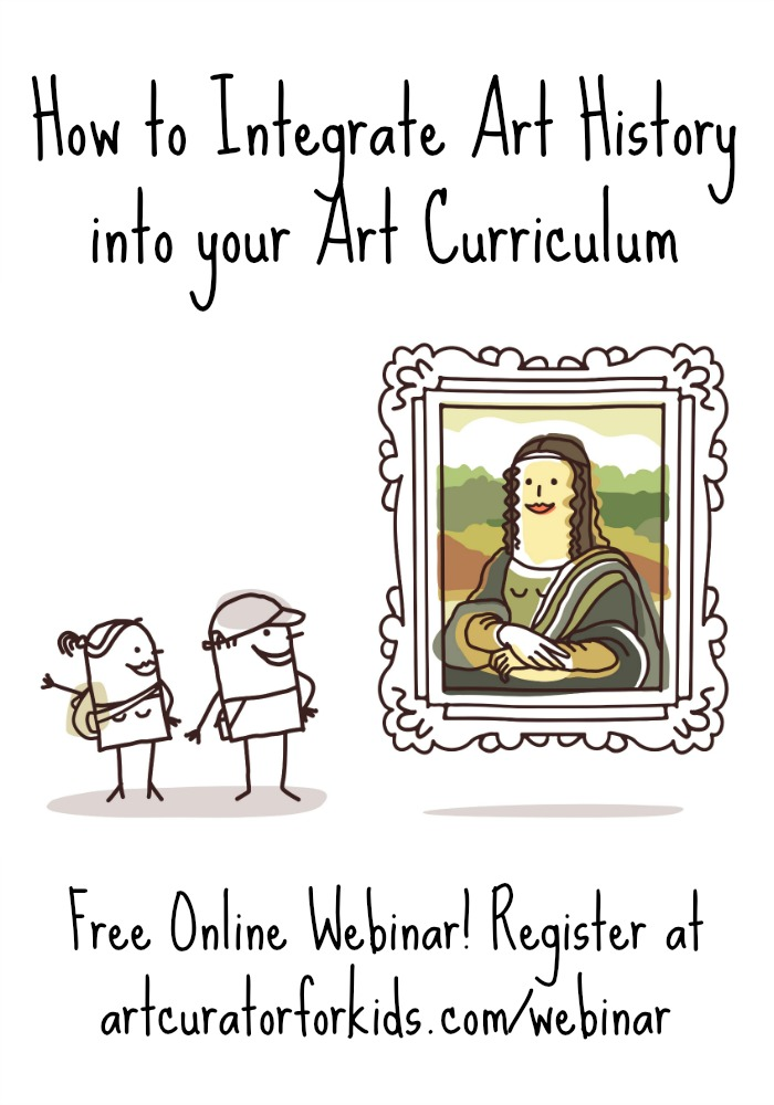 How to Integrate Art History into Your Art Curriculum-PIN