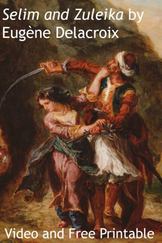 Warning: You're about to fall in love with this Delacroix painting.