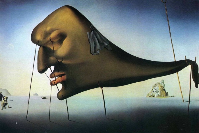 Salvador Dali, Sleep, 1937 - Art Description Activity