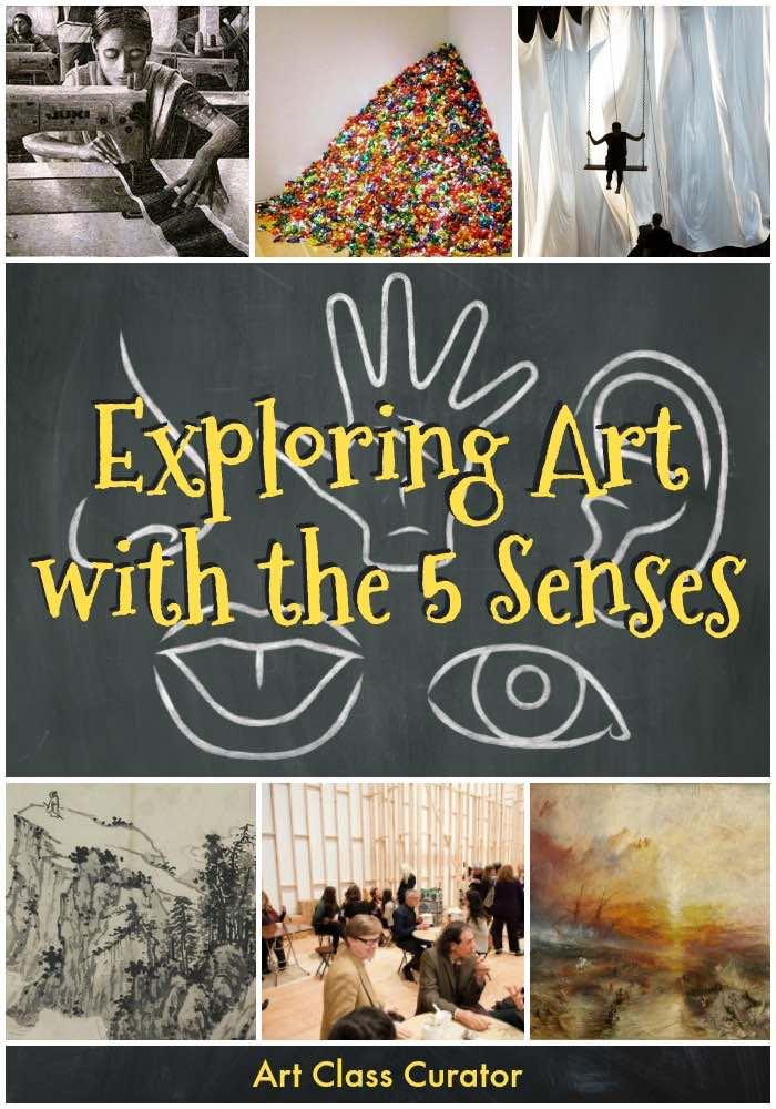 Exploring Art with the 5 Art Senses Pin