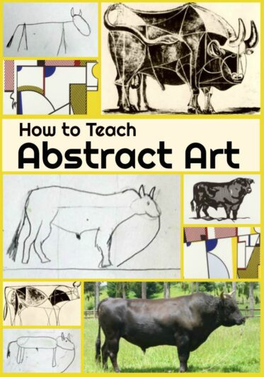 How to Teach Abstract Art Lesson - PIN