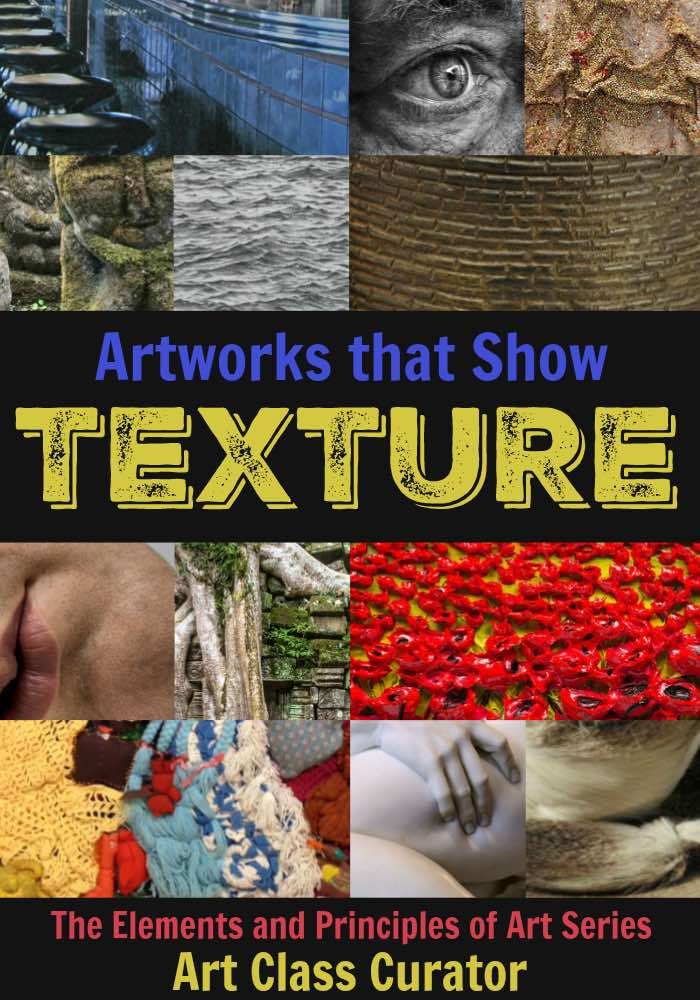 Texture in Art Examples - Element of Design Texture