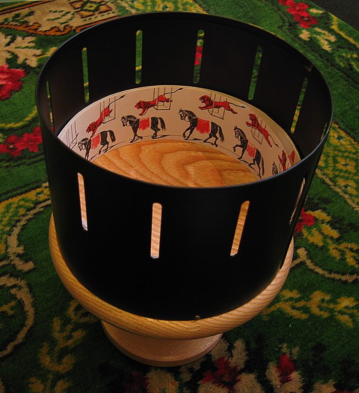 A Modern Zoetrope Replica, Photo Credit: Andrew Dunn, CC BY-SA 2.0