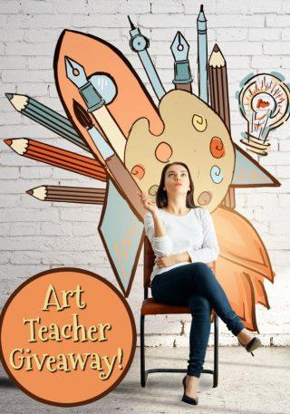 Art Teacher Giveaway PIN