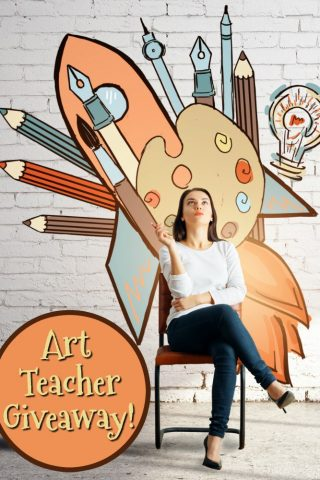 Art Teacher Giveaway PIN
