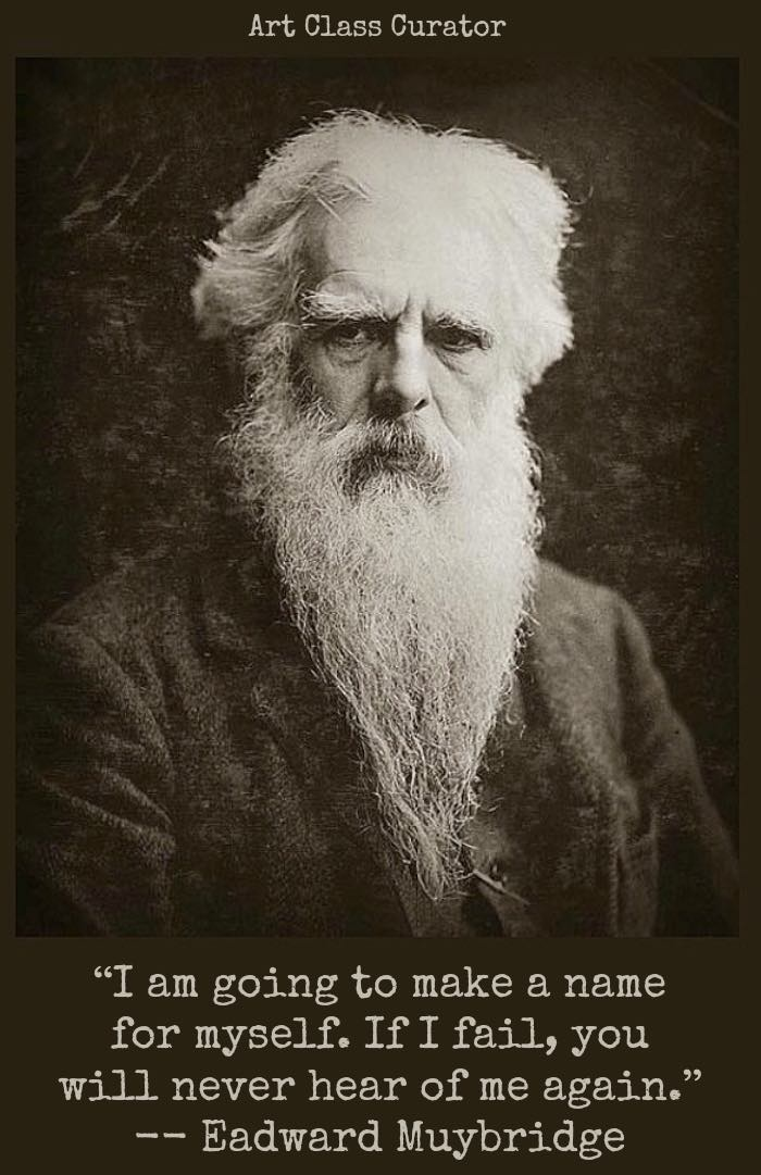 Eadweard Muybridge Horse Quote