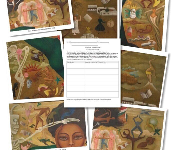 Rosa Rolanda Jigsaw Art Learning Activity - Art Class Curator