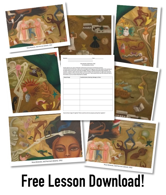 Rosa Rolanda Learning Activity - Art Lesson Download