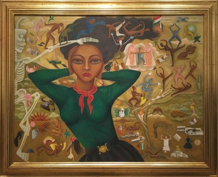Rosa Rolanda, Self-Portrait, 1952