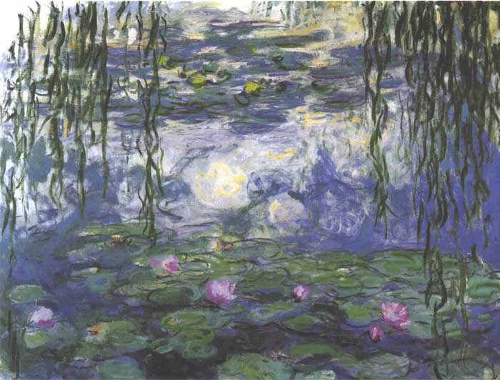 Impressionism Claude Monet for kids Waterlilies