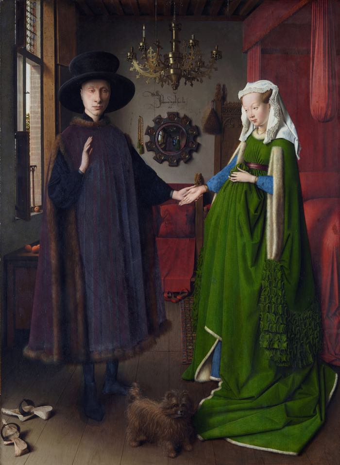 Jan van Eyck, The Arnolfini Portrait, 1434, National Gallery London