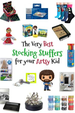 Art Gifts for Kids: The Ultimate List of Artsy Stocking Stuffers