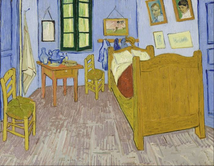 Vincent van Gogh, Bedroom at Arles, 1889, Van Gogh Museum, Amsterdam