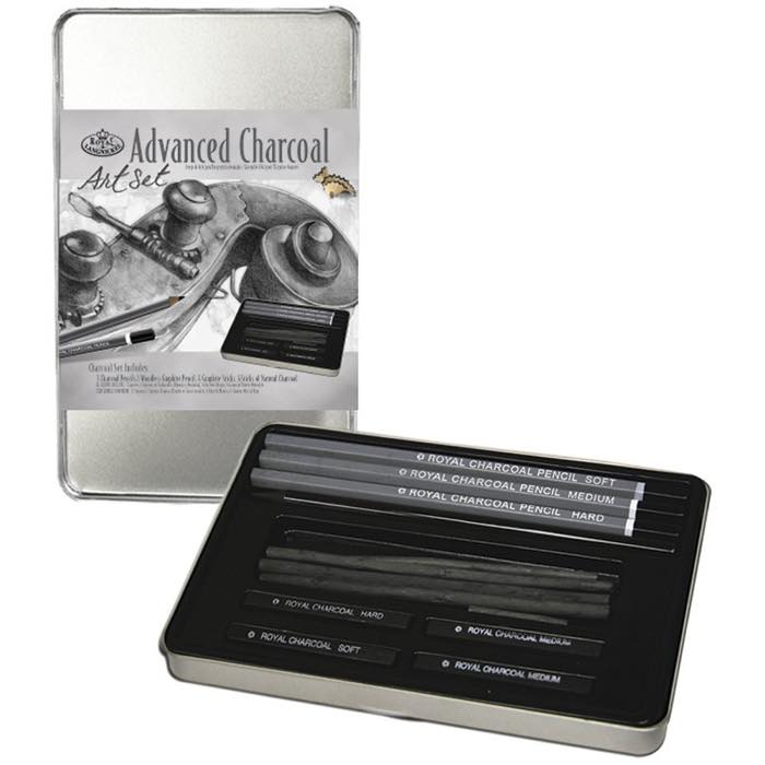 charcoal art kit for teens