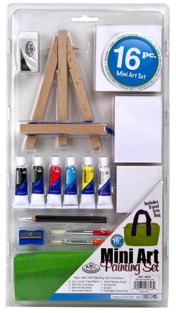 mini art painting set for teens