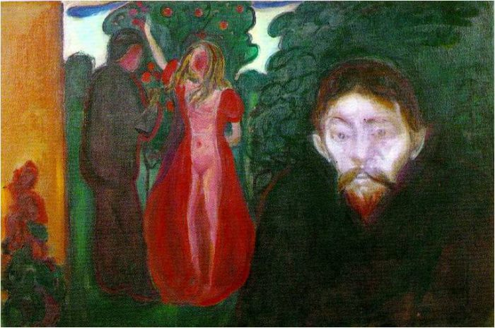 Edvard Munch Frieze of Life, Jealousy, 1895