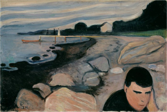 Edvard Munch Frieze of Life, Melancholy, 1892