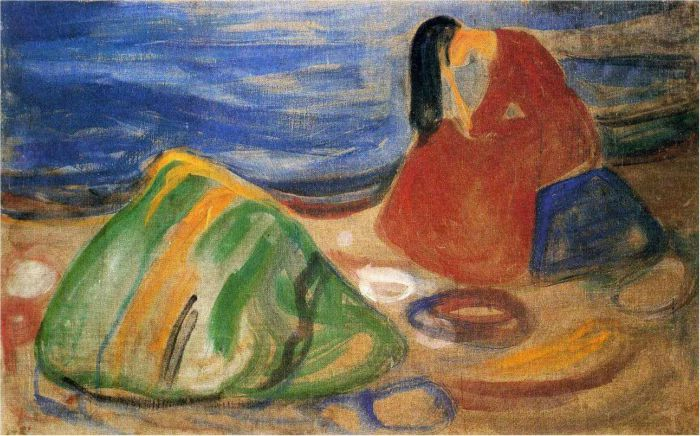 Edvard Munch Frieze of Life, Melancholy, 1911