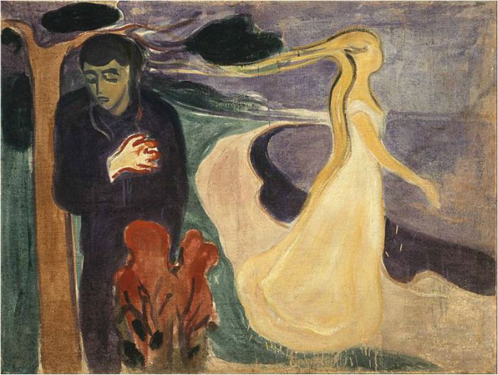 Edvard Munch Frieze of Life, Separation, 1896