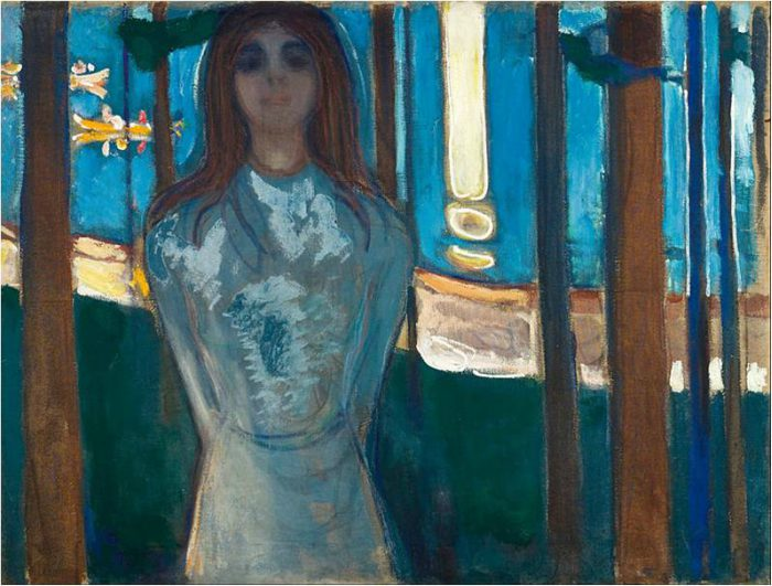 Edvard Munch Frieze of Life, The Voice Summer Night, 1896