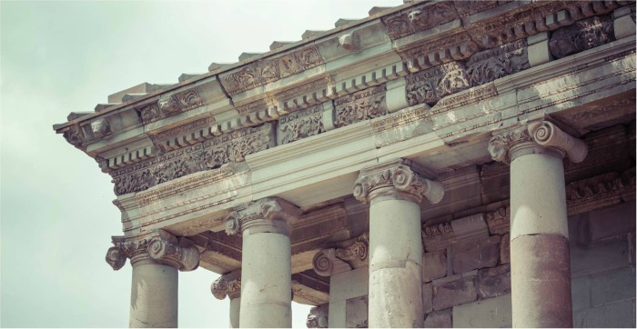 Greek Temple Example of Frieze